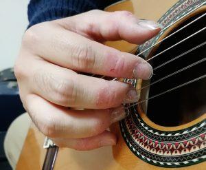 付け爪 リュート クラシックギター ウクレレ 池袋 蕨 川口 東京 埼玉